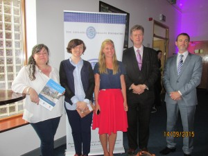 strg comte-Catherine Heaney, Julie Cruickshank, Lucy Whiston, Joe Barry, David Slevin (L-R)